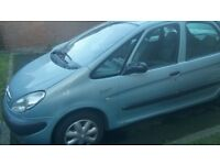 citroen xsara Picasso 02 long MOT Aug 18