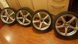 """18"""" Team Dynamic Jade R wheels"""