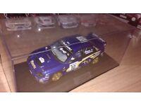 Autoart Prodrive Rally Subaru Impreza WRC 2002 Rare Ltd Edn Makinen 1:18