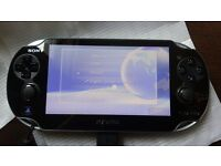 Sony PlayStation Vita boxed complete inc; 4Gb & 8Gb memory cards, 5 games and more