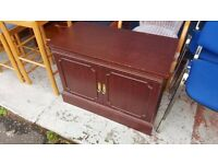 FREE Dark Wood TV / Storage Unit