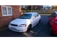 2003 vauxhall astra mk4 MODIFIED