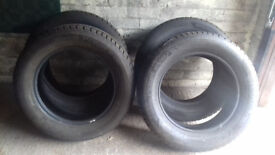 4 x Hankook Winter i*cept Evo Winter Tyres 225/60 R17 103V - only used for a few months