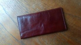 Vintage wallet, real leather, BUXTON, East India Calf made in CANADA