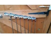 ping i25 irons (4-pw, white dot)
