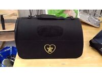 Pet carry case for all cats and small dogs 'i love my pet'