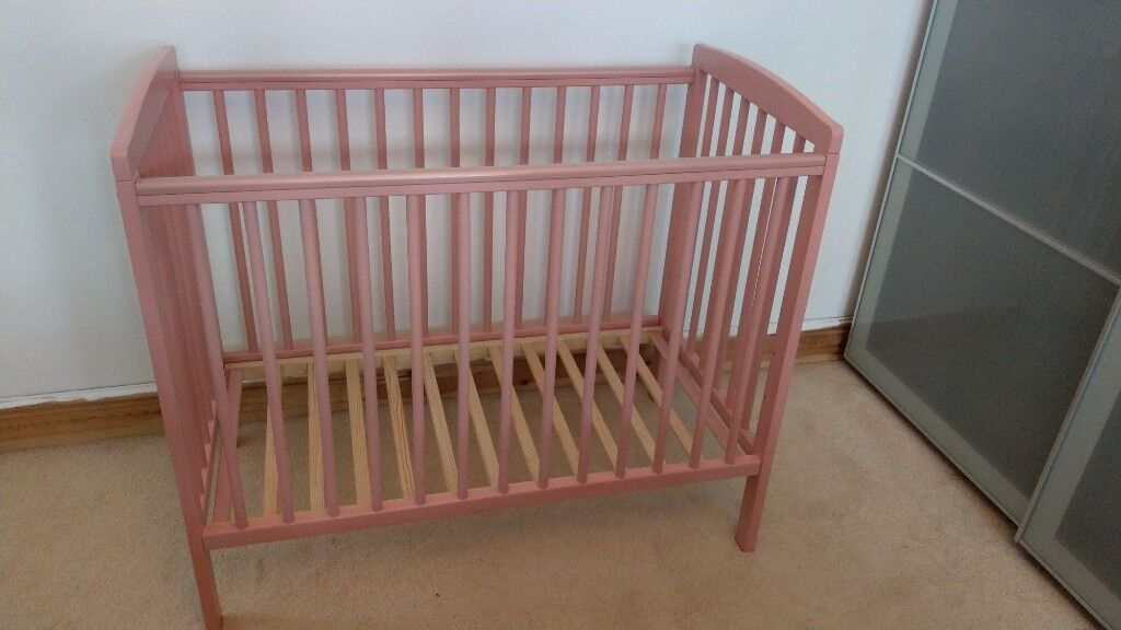 promo code 73d4f 72e93 Kinder Valley Compact Cot - Pink | in Stanmore, London | Gumtree