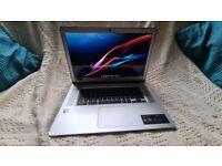 Silver Acer Chromebook