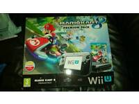 Wii U console - with extras (games & controller)