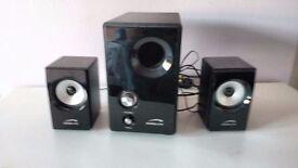 Speedlink Vivo 2.1 Subwoofer & Speakers