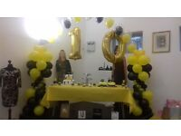 OFFER!!! 60p CHAIR COVER SASHES DECORATION SERVICES FOR ALL OCCASSIONS BALLOONS CATERING HIRE