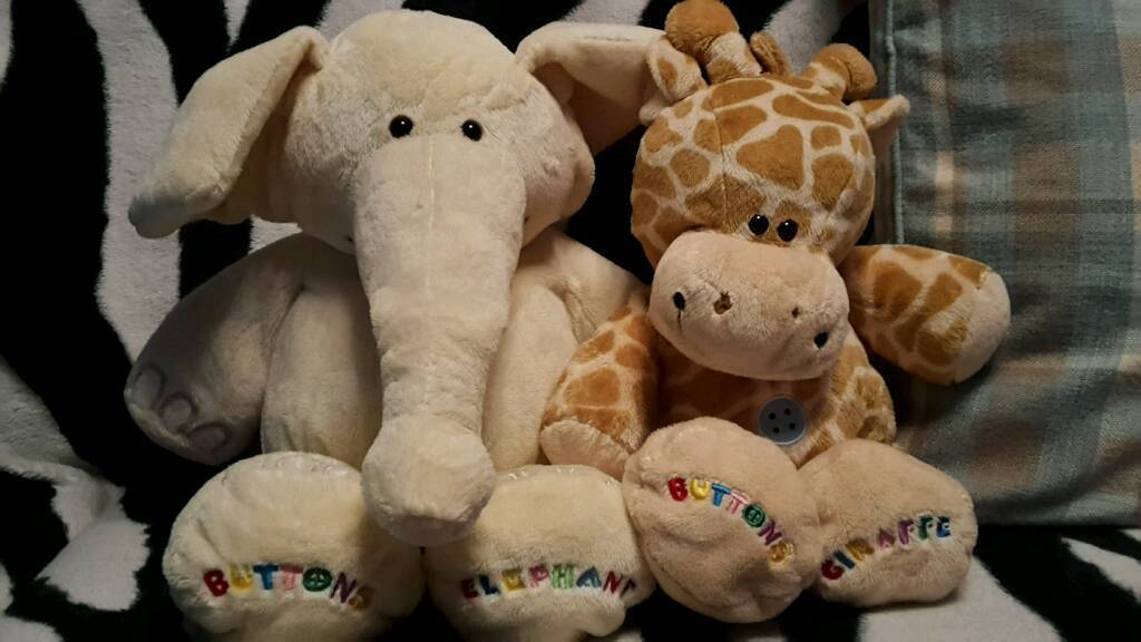 Buttons Bears soft toys