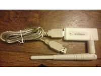 *Still available* USB Wireless 'n' Adapterwith high-gain aerial