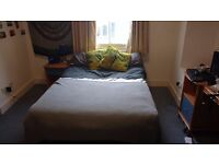 Double Bed Base and Mattress - Sturdy, excellent quality, used