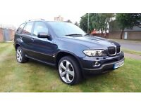 BMW X5 3.0D SE MANUAL 6 SPEED 2005 55, 82000 MILES, FULL SERVICE HISTORY