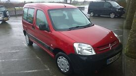 citroen berlingo MULTI SPACE 2008 registration, 1600 cc turbo diesel, 129,000 miles, new mot