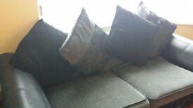 2- 3 seater sofas