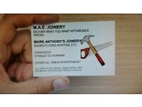 M.A.E. JOINERY