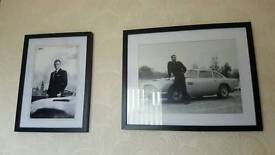2 James Bond Pictures old bond and new bond