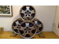 VW 15inch ali wheels