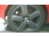 "ALLOYS SLINE AUDI A3 WITH TRYES SET 18"" 2006"