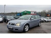 2004 (54 Reg) Vauxhall Vectra 1.9 CDTI Estate For £595, Mot'd til 24/10/2017