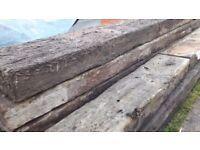 Sleepers - Landscaping & Garden Decorative Wood Beams OLD & NEW