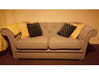 Excellent condition DFS chesterfield type 2 seater sofa