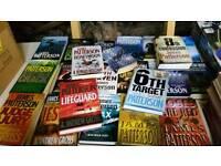 James Patterson books job lot