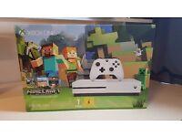 Xbox One S 500GB Minecraft Console 4K 360°
