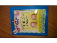 Tell Us A Story - paperback kids book. baby childrens