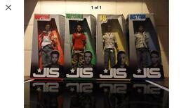 JLS Action Dolls set of 4 X Factor