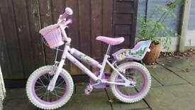 Child's princess bike