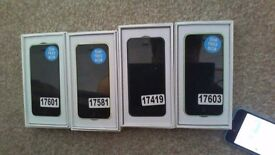 IPhone 5C x3 + IPhone 5S - FULLY UNLOCKED REFURBISHED