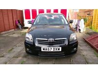 Toyota Avensis 2007 Very Good Condition In Black Colour