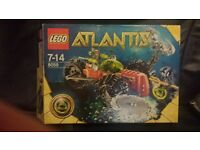 Lego 8059 Atlantis. built..kept in box not played with.