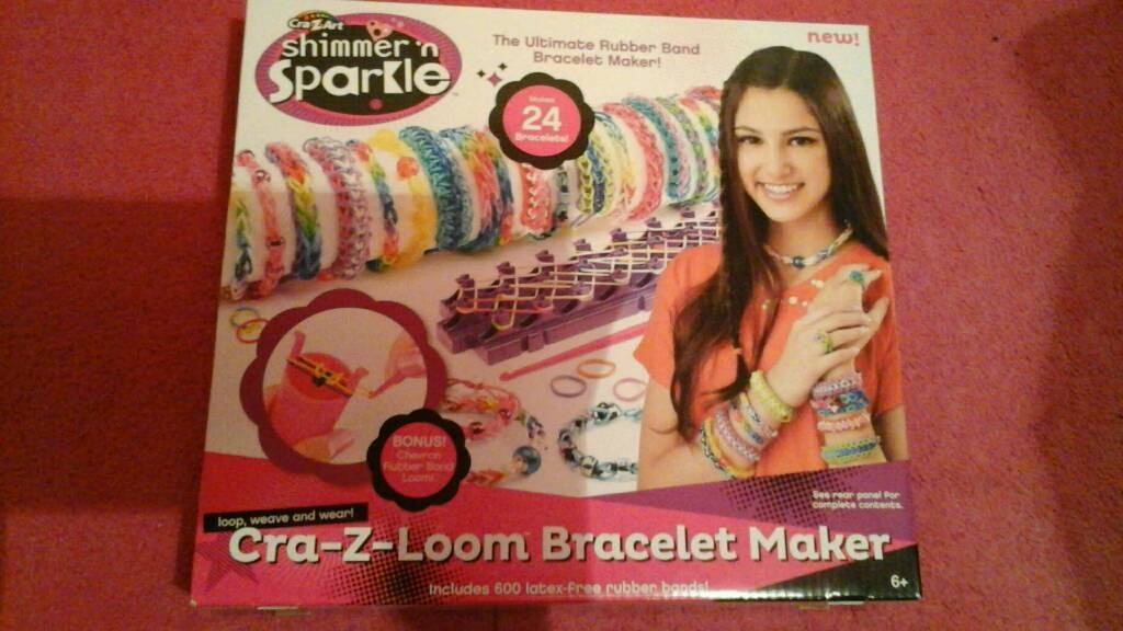 Cra z loom bracelet maker brand new