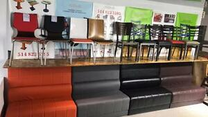 Chairs / Table Tops / Table Bases / Booths / Barstools For Restaurant / Bar / Bistro / Lounge / Pub    Tel:(438)990-2355