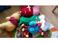 tv characters soft toys