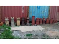 Chimney pots x 20 JOB LOT or will sell seperatly