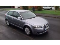 AUDI A3 TDI 56 FACE LIFT NEW SHAPE 07 HPI CLEAN MOT MARCH 2018 6 SPEED DIESEL DRIVES VERY WELL
