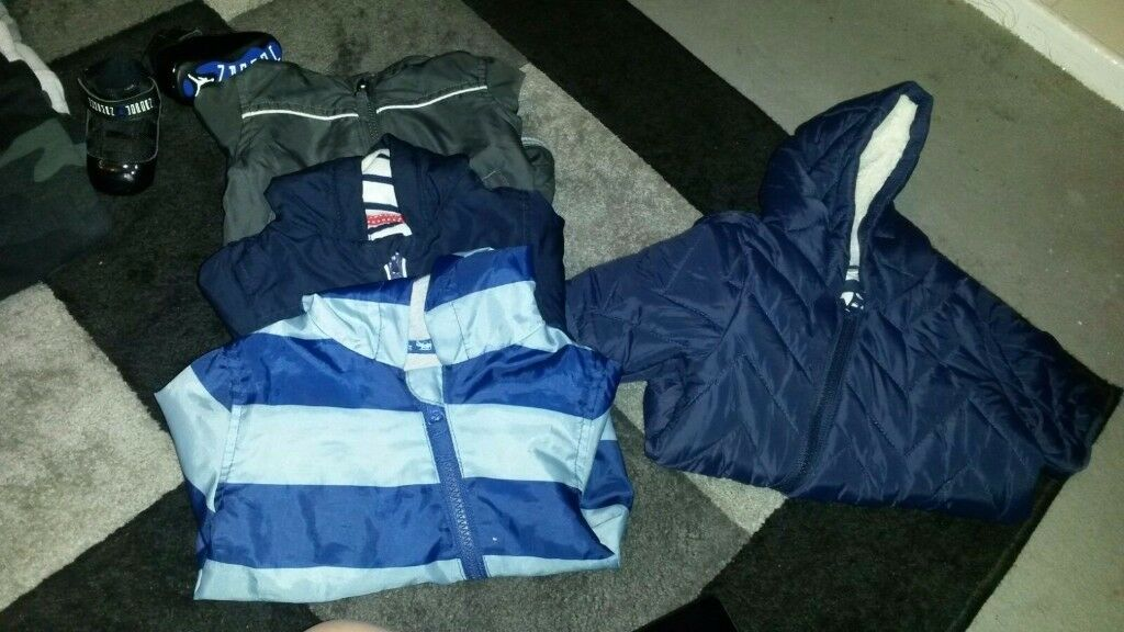 Baby boys coats 0-3
