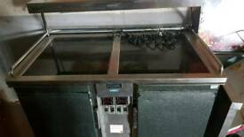 Gantry and heat cabnit on Wheels