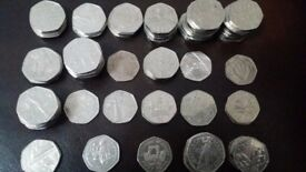 50p rare coins