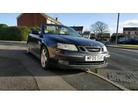 SAAB 93 CONVERTIBLE 1.8 TURBO * 12 MONTHS MOT * EXCELLENT RUNNER * PX WELCOME not bmw / audi