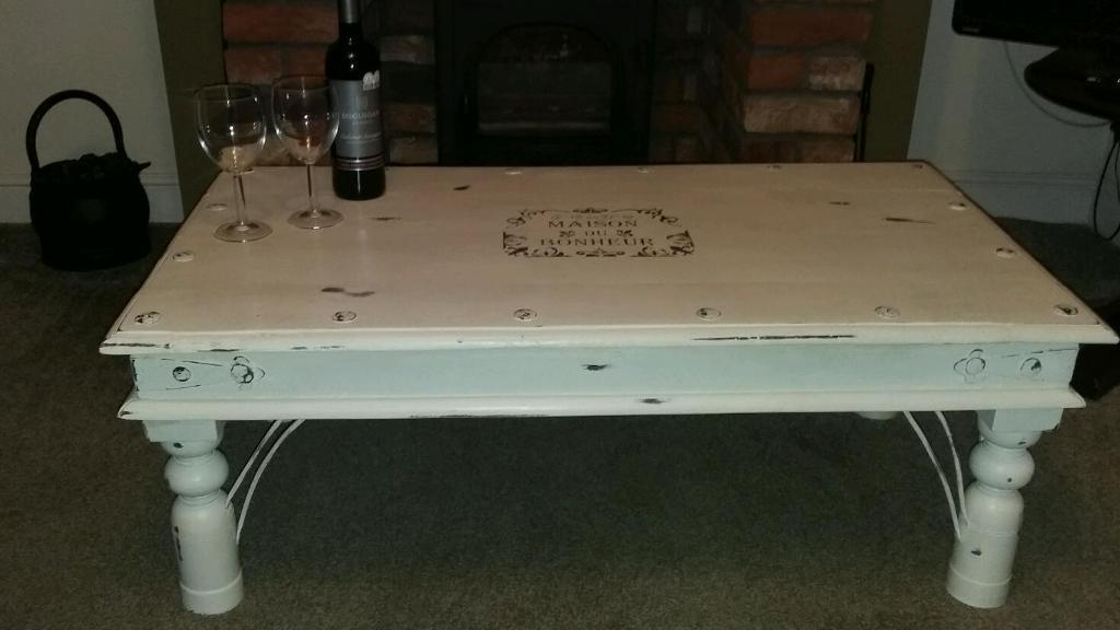 Indian Rosewood Shabby Chic Coffee Table Painted In Annie  : 86 from www.gumtree.com size 1024 x 576 jpeg 49kB
