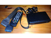Dion STB1AW11+ Freeview Digital Set Top Box with Remote and scart lead