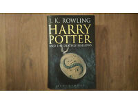harry potter and the deathly hallows hardback
