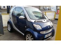 SMART CAR FOURTWO 2006 CITY COUPE MOT LOW MILES