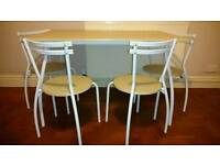 Table and chairs for sell